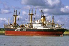 mc4219 - Greek SD14 Cargo Ship - Empros , built 1978 - photo 6x4