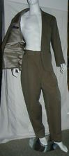 Vintage Claude Montana Fitted Jacket High Waist Pants Suit Italy