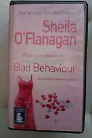 Bad Behaviour by Sheila O'Flanagan: Unabridged Cassette Audiobook