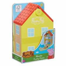 Peppa Pig Wooden Family Home inc Peppa Figure and Furniture Accessories