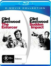 The Enforcer / Sudden Impact (Blu-ray, 2012, 2-Disc Set)