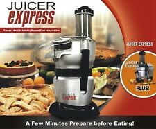 EXPRESS POWER JUICER MIXER BLENDER FOOD PROCESSOR FRUIT VEG DRINKS