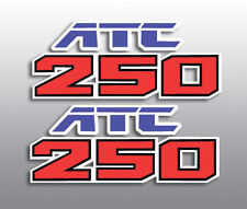 HONDA 1987 '87 ATC250SX ATC 200SX REPRODUCTION SIDE COVER DECALS GRAPHICS