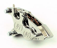 "Performance Machine Front Left 4-Piston Brake Caliper Harley Models 11.5"" Rotor"