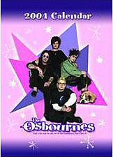 OZZY OSBOURNE Osbournes CALENDAR 2004 UK SEALED ! New !