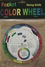 POCKET COLOR WHEEL Artist's Paint Mixing Guide
