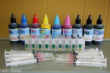 900ML pigment refillable ink cartridge kit for EPSON R3000 printer T157 157
