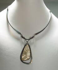 JAMES FRAPPE (American, b. 1921) MCM Sterling Necklace/Pendant (Fossil)