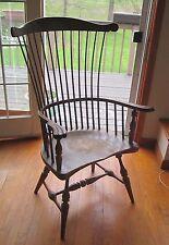 Antique Wood Arm Chair
