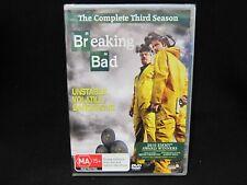 Breaking Bad - The Complete Third Season - NEW SEALED!!!!!! Region 4