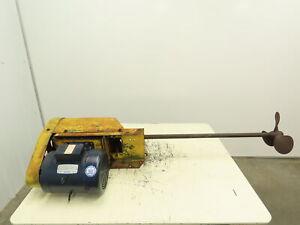 1.5 hp Process Tank Mixer, Barrel Mixer, Agitator 208-230/460v 3ph