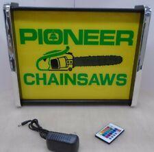 Pioneer Chain Saw LED Display light sign box