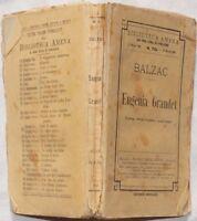 HONORE DE BALZAC EUGENIA GRANDET 15 MARZO 1906 COMPLETO ROMANZO