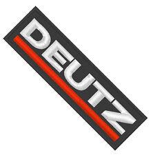 Aufnäher Patch Traktor Schlepper DEUTZ .......A5361