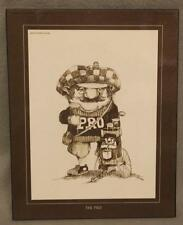 """""""The Pro"""" golfer golfing wall plaque by Gary Patterson"""