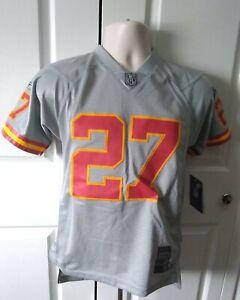 New NFL Reebok Kansas City Chiefs Storm Jersey #27 Larry Johnson Youth Lg(14-16)