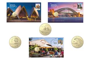 Australia 2021 National Heritage RAM PNC set of 3