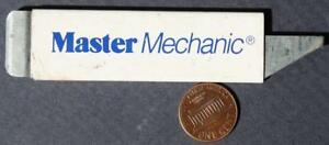 1970-80s Era True Value Hardware Master Mechanic Tools box cutter knife-VINTAGE*