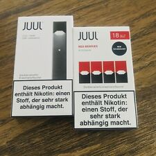 1 JUUL Basic + 1 JuulPod Red Berries Mango Rich Tobacco Mint Apple Royal Creme