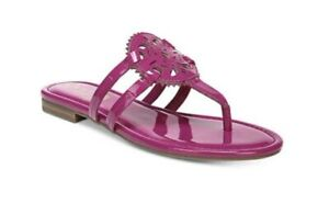 CIRCUS BY SAM EDELMAN WOMENS SZ 8.0 CANYON MEDALLION FLAT SANDALS Bright Orchid