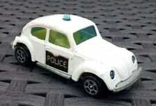 Corgi juniors whizzwheels volkswagen beetle 1300 police car red interior