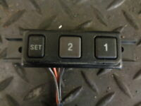 2002 JEEP GRAND CHEROKEE 2.7 CRD 5DR AUTO DRIVERS SEAT MEMORY CONTROLS 5604229AB