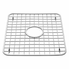 InterDesign Sink Grid, Hole in Middle, Polished Stainless Steel , New, Free Ship