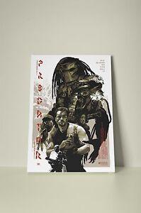 Predator 001 Framed Canvas Print
