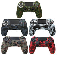 Camouflage Silicone Controller Cover Protective Skin Case For Playstation PS 4