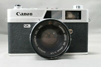 <As is> Canon Canonet QL17 35mm Rangefinder Camera 45mm f/1.7 from Japan