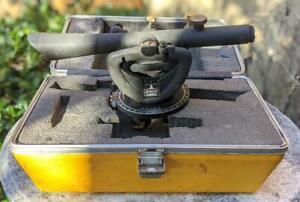 Vintage Sears Craftsman Surveyors Transit w/ Case