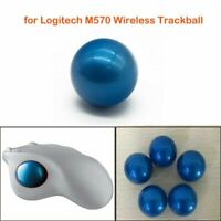 Blue Ball Wireless Mouse Trackball Replacement Repair Parts for Logitech M570 BM