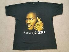 MICHAEL JORDAN BLING CHAMPIONSHIP 6 GLITTER RINGS GRAPHIC T-SHIRT-4XL tall