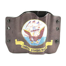 1911, Beretta, Bersa, Browning, US Navy Grey, OWB Kydex Gun Holsters
