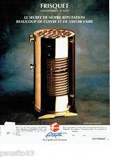 PUBLICITE ADVERTISING 056  1994   les chaudières à gaz Frisquet