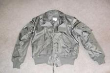 Military Flyer's Jacket Large 42-44 Sage Grn Vietnam era USAF US Army Men Boys94