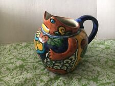 Made In Mexico Colorful Pottery Pitcher