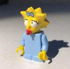 Genuine LEGO Mini Figure - Maggie Simpson - SIM011 - 2014 - No Bear