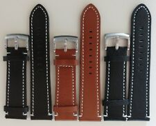 Replacement Quality Panerai style Full Grain Genuine Leather Watch Band Strap