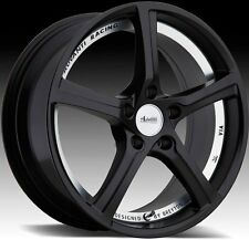 17x7.5 Advanti Racing 15th Anniversary 5x112 ET35 Matte Black Wheel (1 Rim)