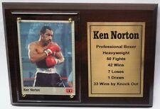 Ken Norton Boxing Card Plaque