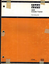 "CASE 350B  CRAWLER TRACTOR  PARTS  MANUAL  ""NEW""1386"