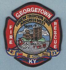 GEORGETOWN KENTUCKY FIRE DEPARTMENT PATCH