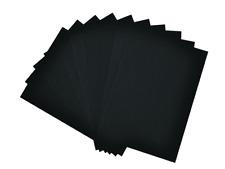 10 x A4 Matt Black Card 420gsm for Craft & Art Projects NEW