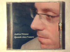 ANDREA VIVIANO Quando vince l'amore cd RARISSIMO SIGILLATO VERY RARE SEALED!!!