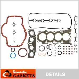Fits 01-06 Toyota Highlander Camry Scion tC 2.4 Graphite Full Gasket Set 2AZFE