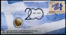 Greece 2021 200 Years from the Greek Revolution 2 euro coin (U) FDC III