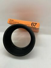 Vivitar Collapsible Lens Hood 67mm New and Boxed