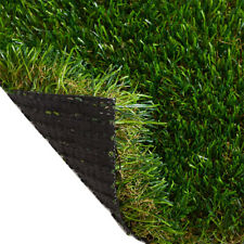Artificial Grass 40mm Realistic Fake Lawn Top Quality Astro Turf 2m & 4m Rolls