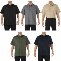 5.11 Tactical Men's Taclite Short Sleeve TDU Shirt, Style 71339, Sizes XS-4XL